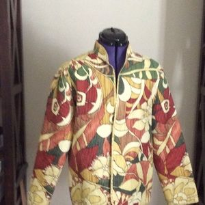 Jacket ; no buttons or button holes
